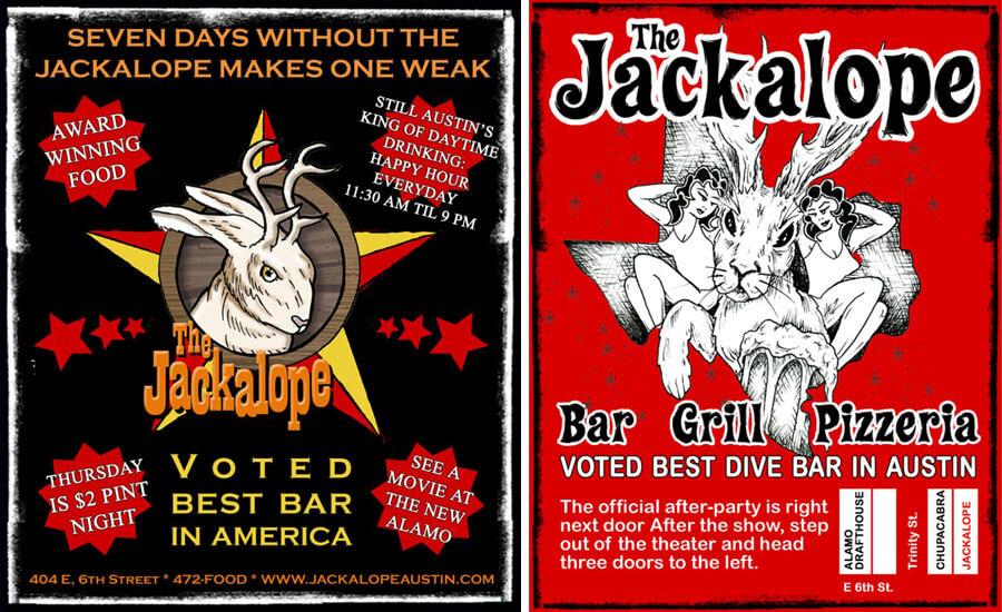 Jackalope Handbill