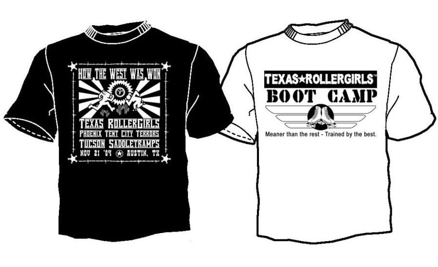 az-vs-texas-rollergirls-tshirt