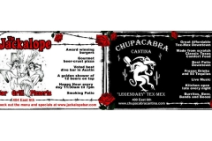 Jackalope Chupacabra Ad